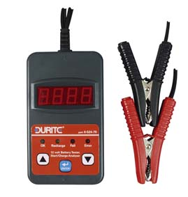 Durite digital battery tester